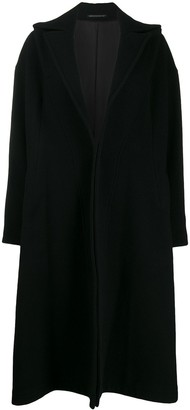 Yohji Yamamoto pinched swing coat