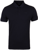 Armani Jeans Navy Short Sleeve Polo Shirt
