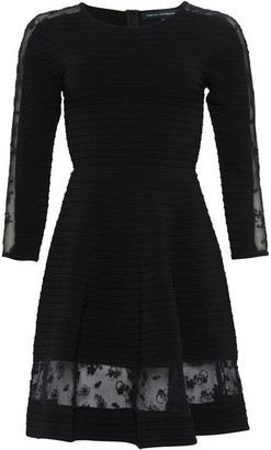French Connection Voletta Crepe Knit Dress