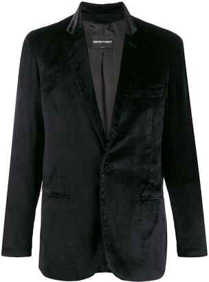 Giorgio Armani Pre-Owned 1990s One-Button Blazer