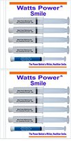 Watts Power 35% Teeth Whitening Gels - Safer & Same Results As 44% but Without the Sting - 8 Huge 10ml Gels Plus NEW FCP Enamel Gel / 80ml