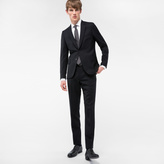 Paul Smith A Suit To Travel In - Men's Tailored-Fit Black Wool Blazer