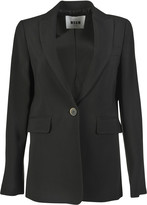 MSGM One Button Blazer