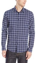 Calvin Klein Jeans Men's Indigo Check Shirt