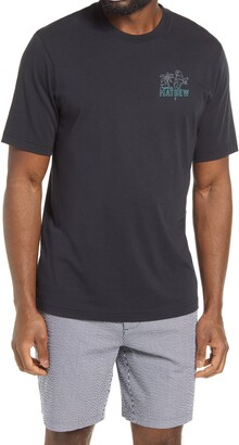 Travis Mathew Party Parrot Graphic Tee