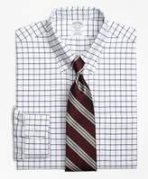 Brooks Brothers Non-Iron Regent Fit Tattersall Dress Shirt