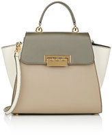 Zac Posen WOMEN'S EARTHA ICONIC TOP HANDLE SATCHEL-DARK GREEN
