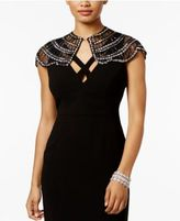 INC International Concepts Beaded Mini Capelet, Created for Macy's