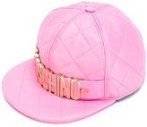 Moschino quilted cap - women - Sheep Skin/Shearling/Rayon - S
