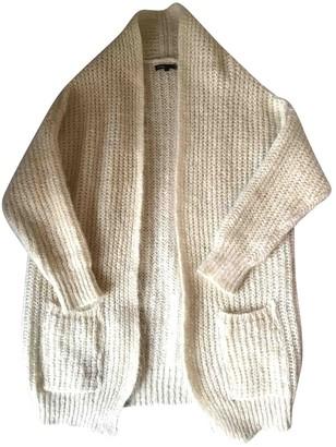 Maje Ecru Wool Knitwear for Women