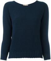 Cruciani boat neck jumper - women - Cotton - 46