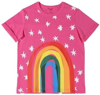 Stella McCartney All Over Printed Organic Cotton T-shirt