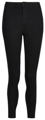 Dorothy Perkins Womens Dp Petite Black 'Lyla' High Waisted Denim Skinny Fit Jeans, Black
