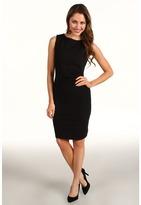 Kenneth Cole New York - Hilary Double-Knit Dress (Black) - Apparel