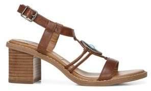 Zodiac Ilaria Heeled Leather Sandals