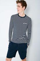 Rosewood Stripe Long Sleeve T-shirt