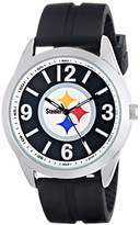"Game Time Men's NFL-VAR-PIT ""Varsity"" Watch - Pittsburgh Steelers"