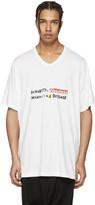 Niløs White Graphic T-shirt