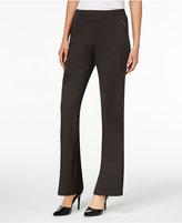 JM Collection Zipper-Pocket Wide-Leg Pants, Only at Macy's