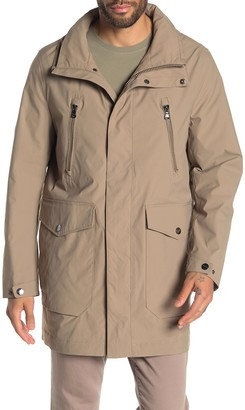 Michael Kors Waxed Zip Front Jacket