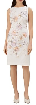 Hobbs London Moira Floral Sheath Dress