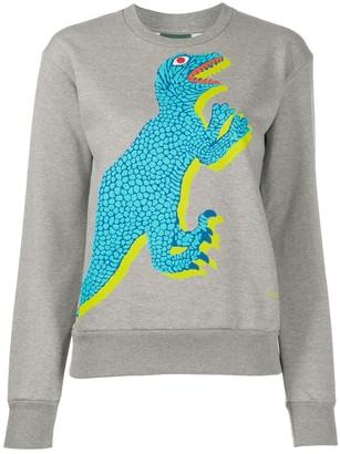 Paul Smith Dino-print cotton sweatshirt