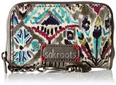 Sakroots Artist Circle Zip Id Case Wallet