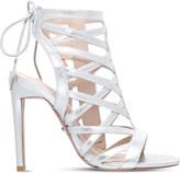 Carvela Gracie metallic heeled sandals