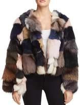 Jocelyn Fox Fur Coat - 100% Exclusive