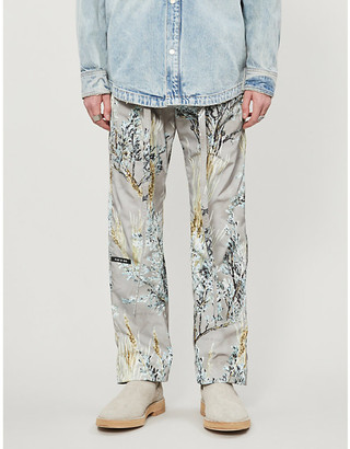 Fear Of God Floral-print shell jogging bottoms