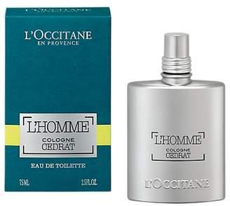 L'Occitane L'Homme Cologne Cedrat Eau de Toilette, 75ml