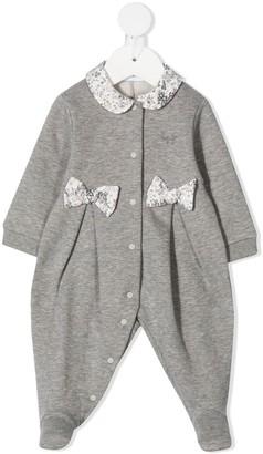 Il Gufo Floral Trim Pyjamas
