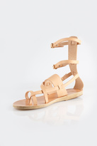 Ancient Greek Sandals Alethea Mid Gladiator
