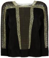 Etro lace detail blouse - women - Silk/Cupro/Viscose/Wool - 44