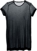 Julius sheer long T-shirt