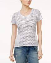 Maison Jules Mixed-Media T-Shirt, Created for Macy's