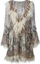 Etro lace detail short dress - women - Silk/Polyamide/Viscose - 44