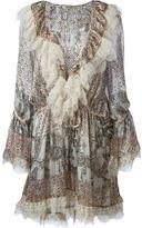 Etro lace detail short dress