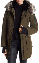BCBGeneration Faux Fur Trimmed Heavy Weight Parka