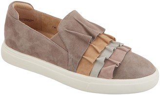 VANELi Suede Ruffle Slip-on Shoes - Only