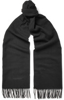 Tom Ford Cashmere Scarf - Black