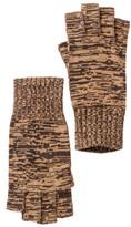 Portolano Hazelnut Minerva Long Fingerless Gloves