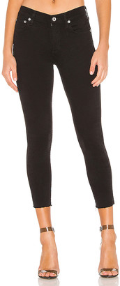 A Gold E Agolde AGOLDE Sophie High Rise Skinny Crop. - size 23 (also