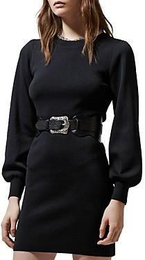 The Kooples A-Line Knit Dress