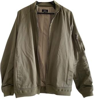 A.P.C. Khaki Cotton Jackets