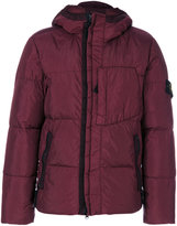 Stone Island shell puffer jacket - men - Feather Down/Polyamide/Polyurethane Resin - S