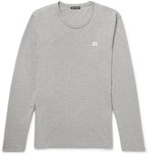 Acne Studios - Nash Mélange Cotton-jersey T-shirt