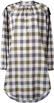 A.F.Vandevorst plaid shirt dress - women - Cotton - 34