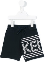 Kenzo logo print shorts - kids - Cotton - 24 mth
