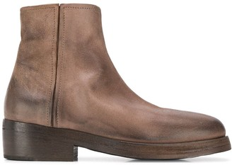 Marsèll worn effect boots
